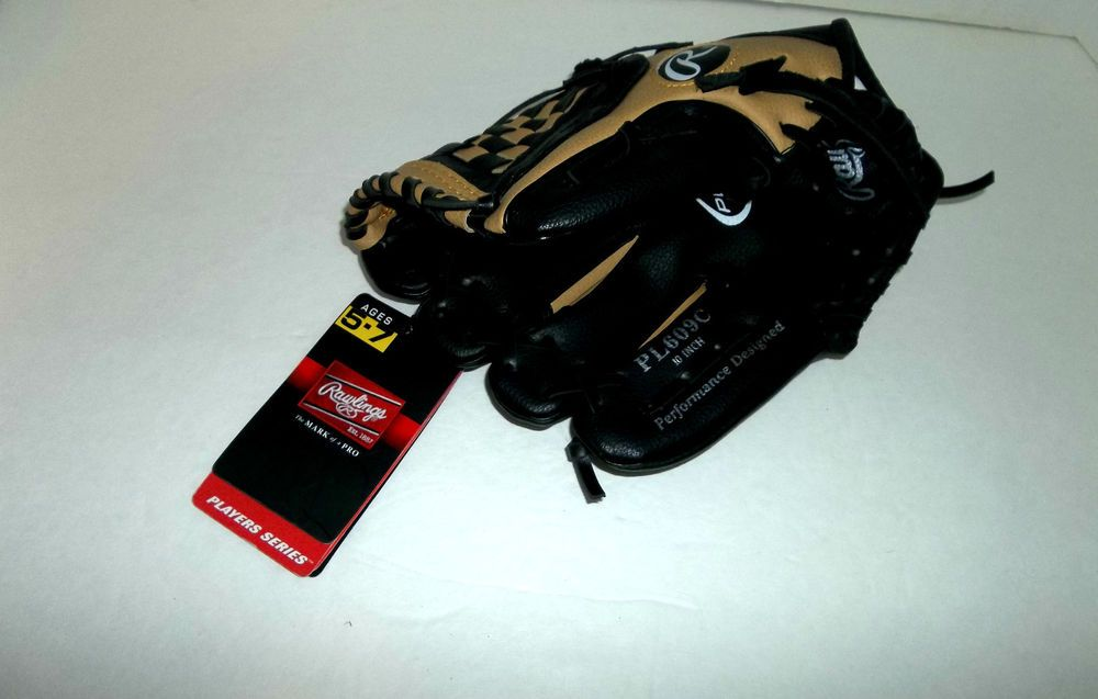 """Rawlings Youth Glove Ages 5-7 Size 10"""" Right Handed Throw PL609C T54 #Rawlings"""