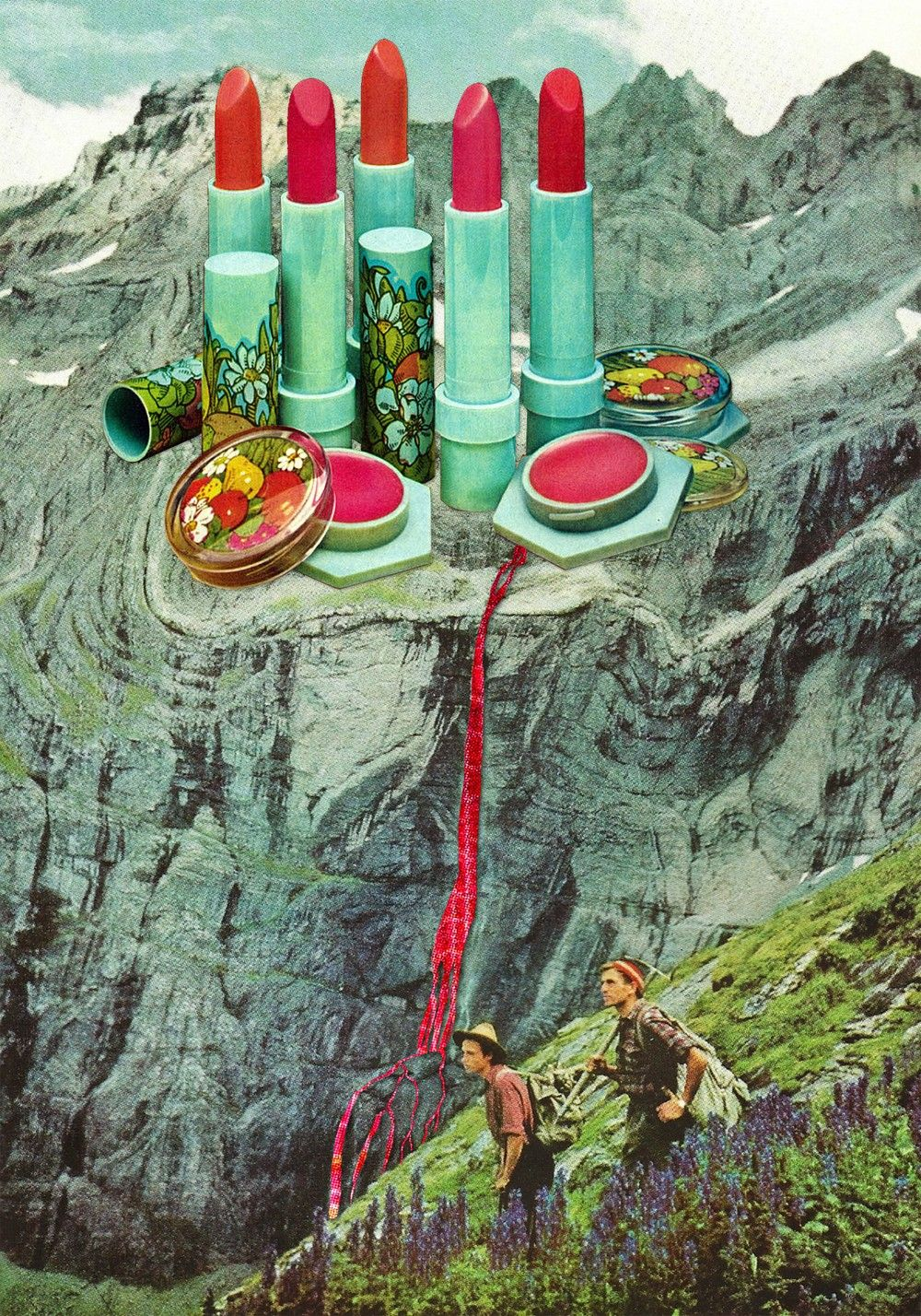 Spring Collection via Eugenia Loli Collage. Click on the image to see more!