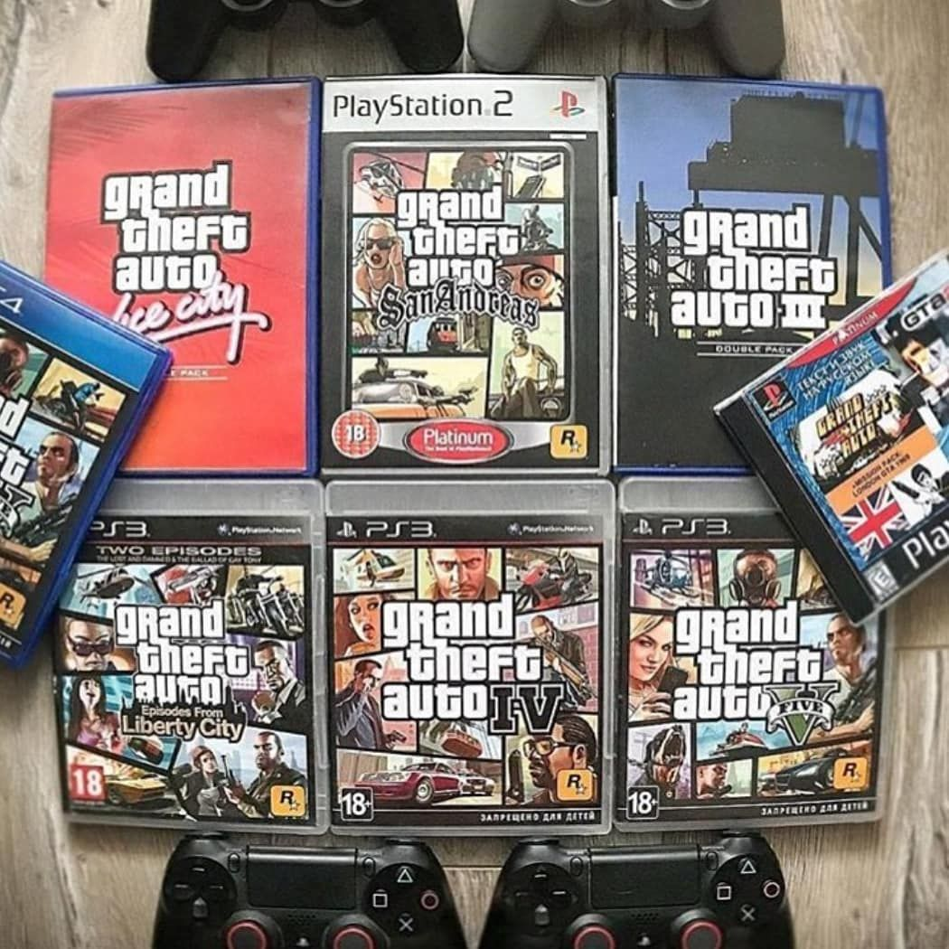 Gta History What Is Your Favorite Gta Game
