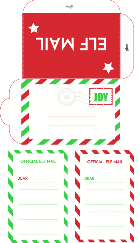 Comprehensive image in free printable elf on the shelf letter