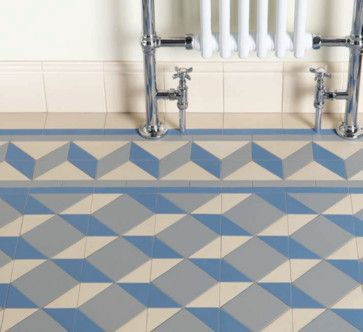 Bathroom Floor Art Deco Floor Tiles Traditional Bathroom Tile