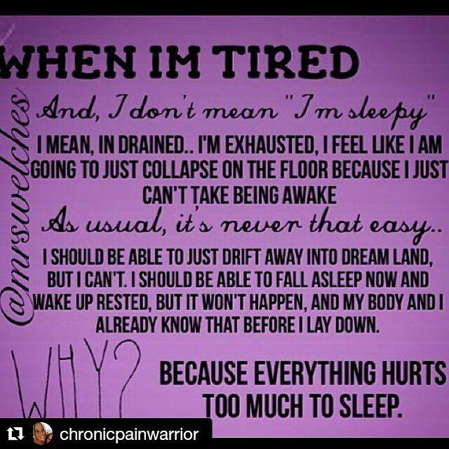 "kellyann7670👑 (@kelly7670) posted on Instagram: ""Soi true! #repost #fibro #chronicpain #chronicfatigue #chronicpainwarrior"" • Dec 7, 2015 at 3:01pm UTC"