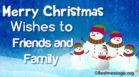 Happy Merry Christmas Wishes and Quotes To Send Your Friends And Family on  Whatsapp