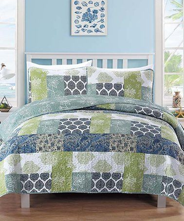 Another great find on #zulily! Blue & Green Zahira ... on