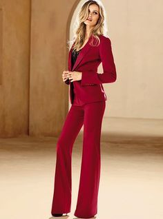 Afbeeldingsresultaat voor red suit womens | fashion vision board ...