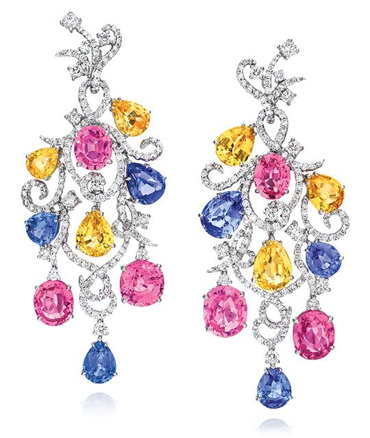 Cellini Jewelers carries CELLINI Sapphire Swirl Drop Earrings. Visit our stores or shop online at www.cellinijewelers.com today.