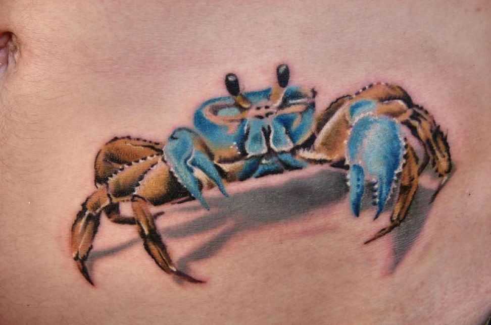 crab tattoos more tattoos pictures under crab tattoos. Black Bedroom Furniture Sets. Home Design Ideas