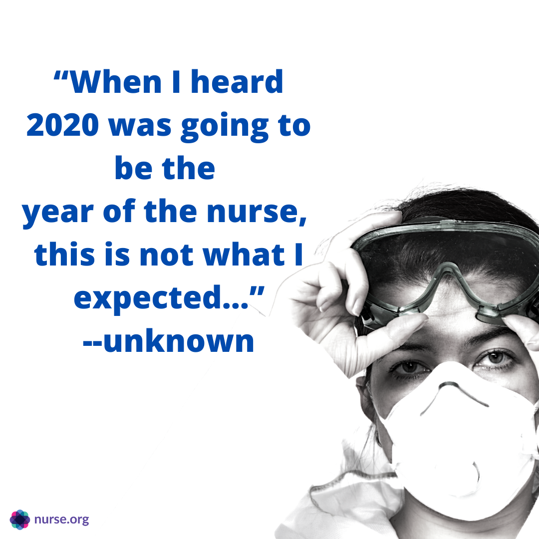 Nurse Quotes About The Year Of The Nurse 2020 Nurse Quotes Funny Nurse Quotes Nurse Appreciation Quotes