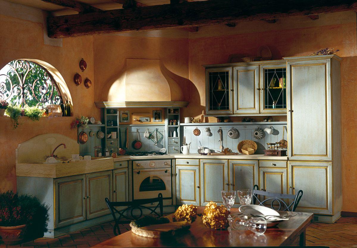 Marchi Group - Granduca Cucina country provenzale, in muratura ...