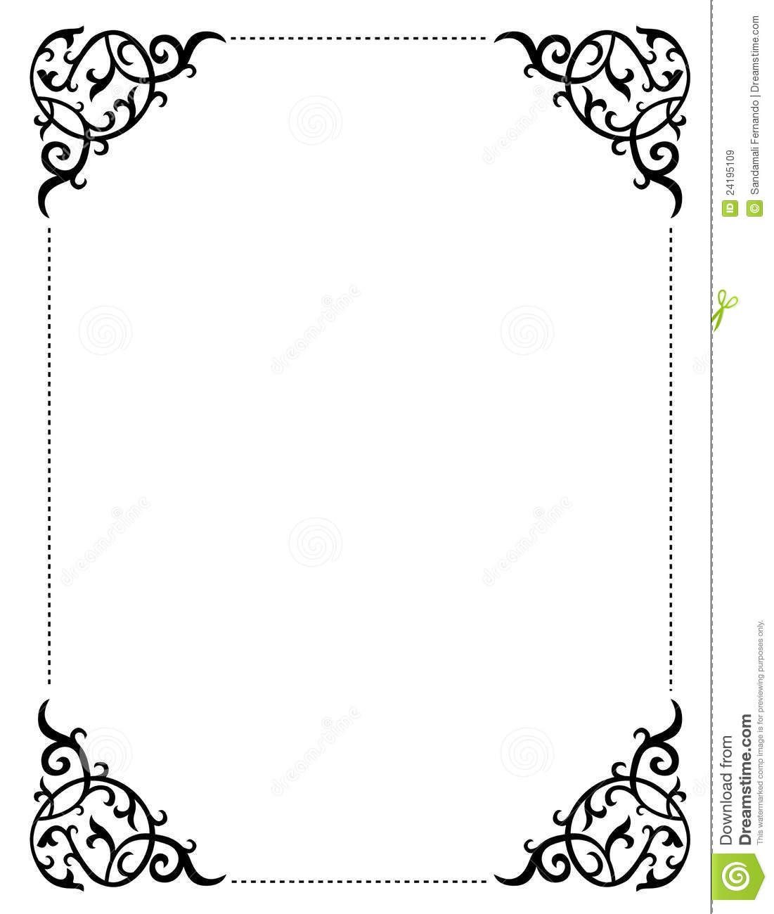 Free printable wedding clip art borders and backgrounds for Wedding invitation page borders free download