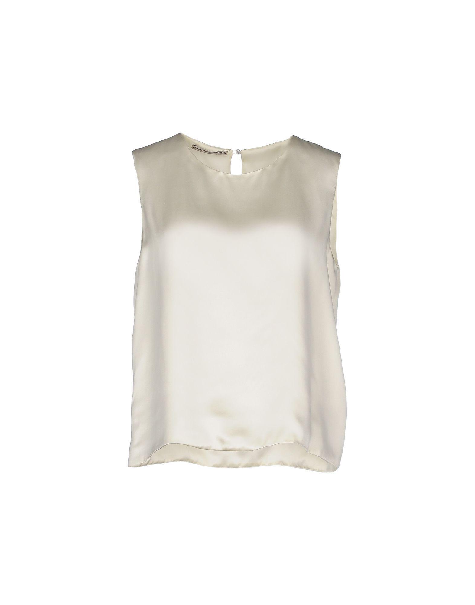 Ermanno Scervino Silk Top - Women Ermanno Scervino Silk Tops online on YOOX United States - 37793002SU