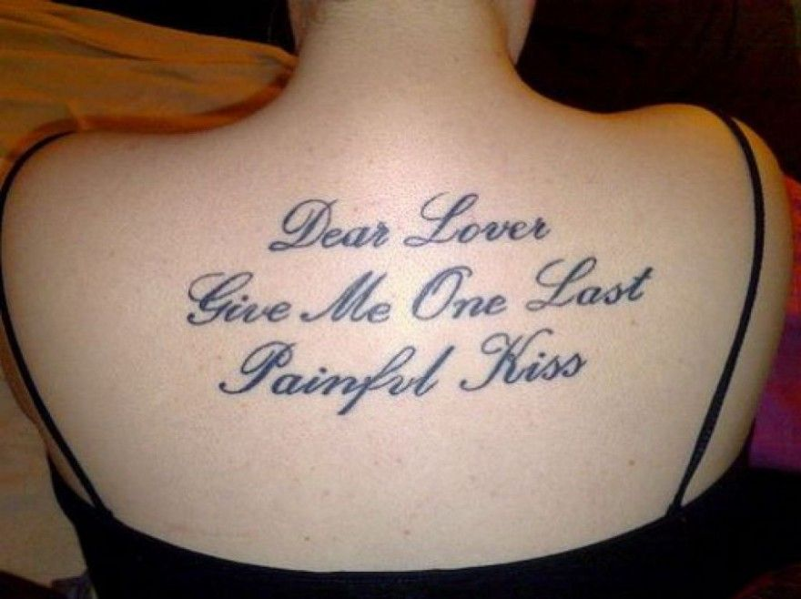 Tattoos Love Quotes Magnificent Good Love Tattoo Quotes For Girls Pictures  Amor Tattoo Love