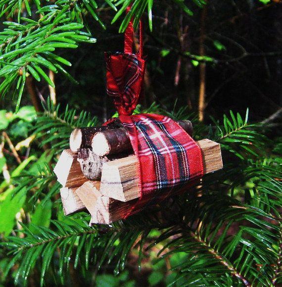 Miniature Firewood Bundle Christmas Ornament By Tn2maine On Etsy 7 50 Christmas Ornaments Christmas Decorations Cheap Christmas Decorations Xmas