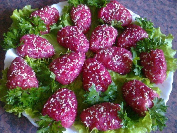 Необычный салат из обычных продуктов