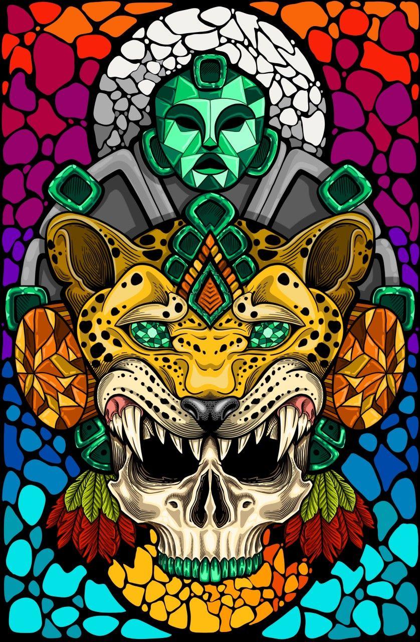 Guerrero jaguar | Aztec art, Mayan art, Mexican art