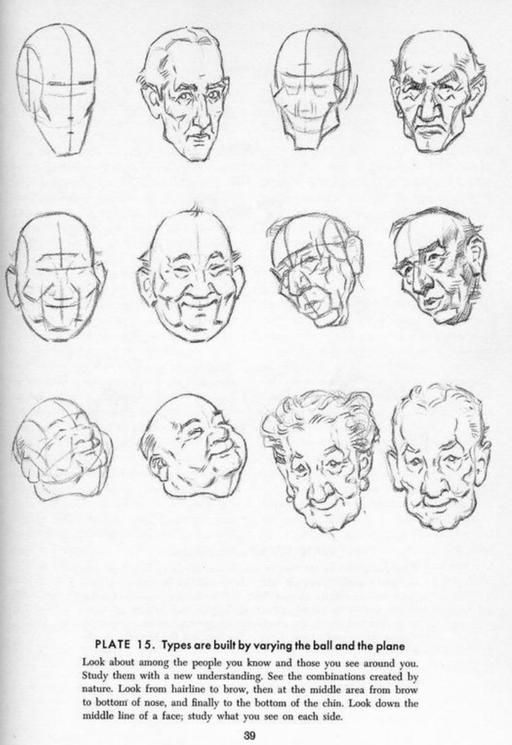 Drawing The Head And Hands - Andrew Loomis | LOVE = watercolors ...
