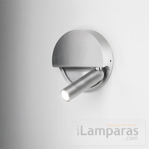Ledtube R Aplique Circular Plegable Izquierdo 3 W Led Aluminio