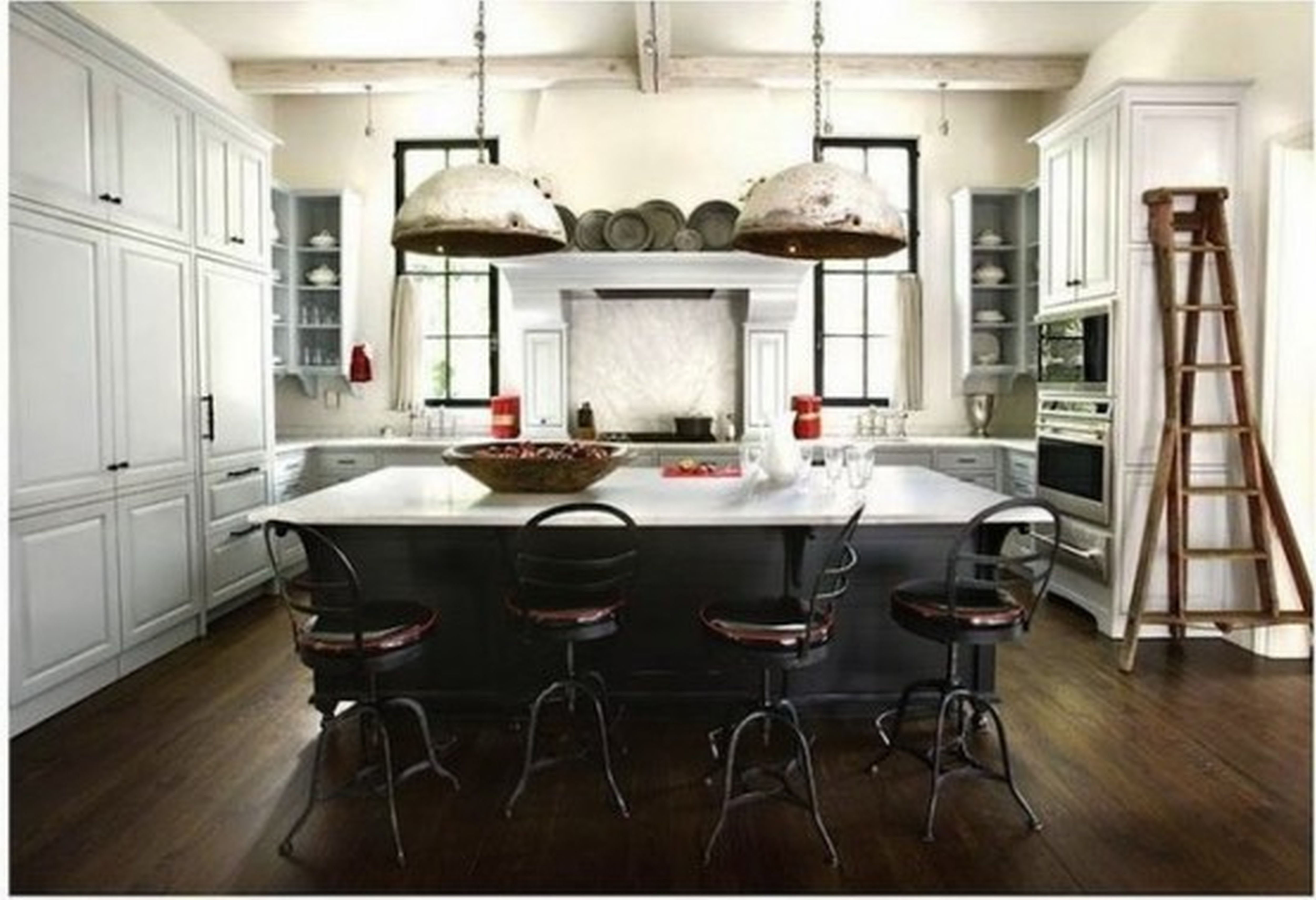 beautiful white country kitchens Google Search