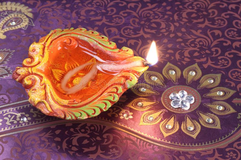 Handmade Diwali Clay Lamp On Floral Background Handmade Diwali Clay Lamp On Bac Ad Clay Diwali Handmade Background Floral Background Handmade Clay