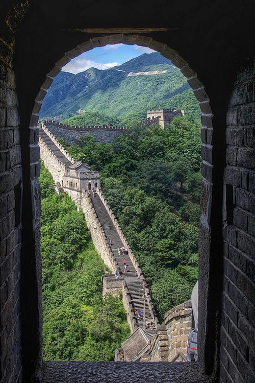 Great Wall Of China By Ekaterina Negoda Great Wall Of China Wonders Of The World Beautiful Nature