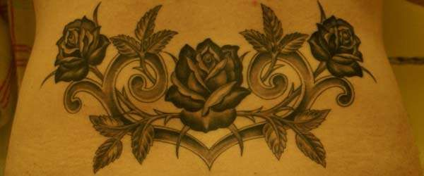 Roses and Tribal Heart