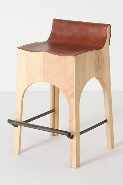 Morris Counter Stool Anthropologie This Stool Is So Comfy