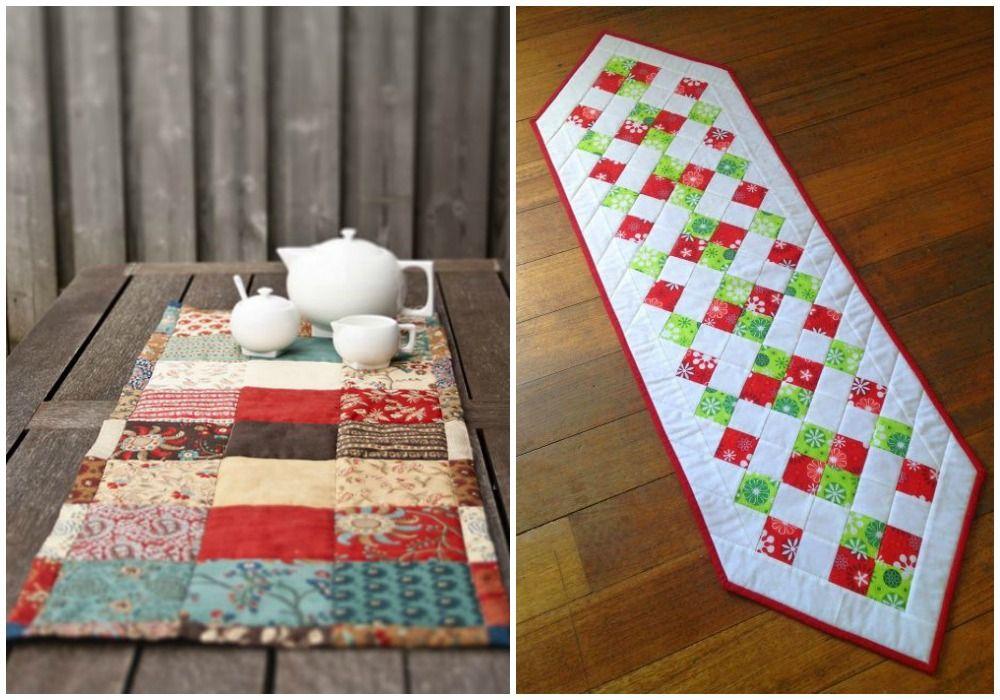 decora tu mesa con tus propias manos hoy os traemos algunas bonitas ideas de camino de mesa diy para hacer con diferentes materiales para todos los das y - Caminos De Mesa