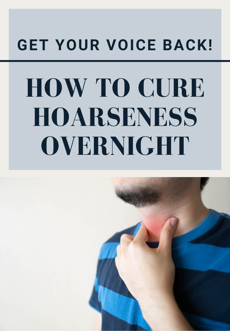 Get Your Voice Back How To Cure Hoarseness Overnight Get Your Voice Back How To Cure Hoarseness Overnight