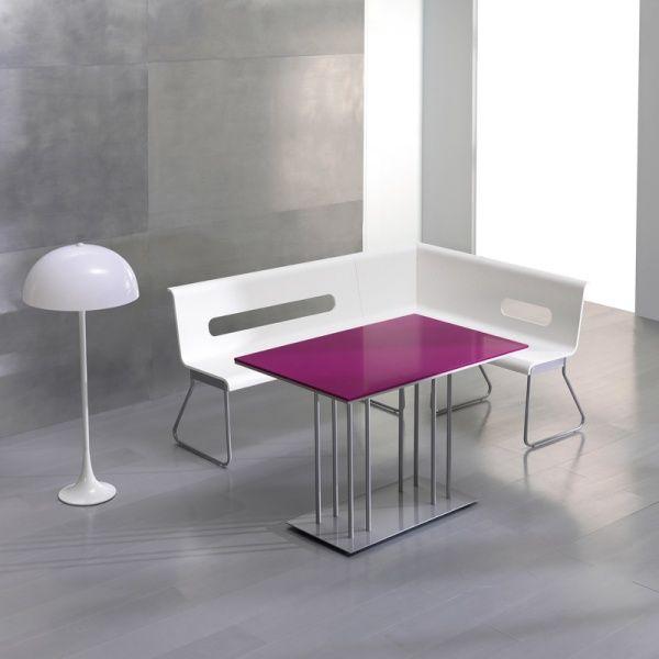 table en silestone rectangulaire pascal meubles petits. Black Bedroom Furniture Sets. Home Design Ideas