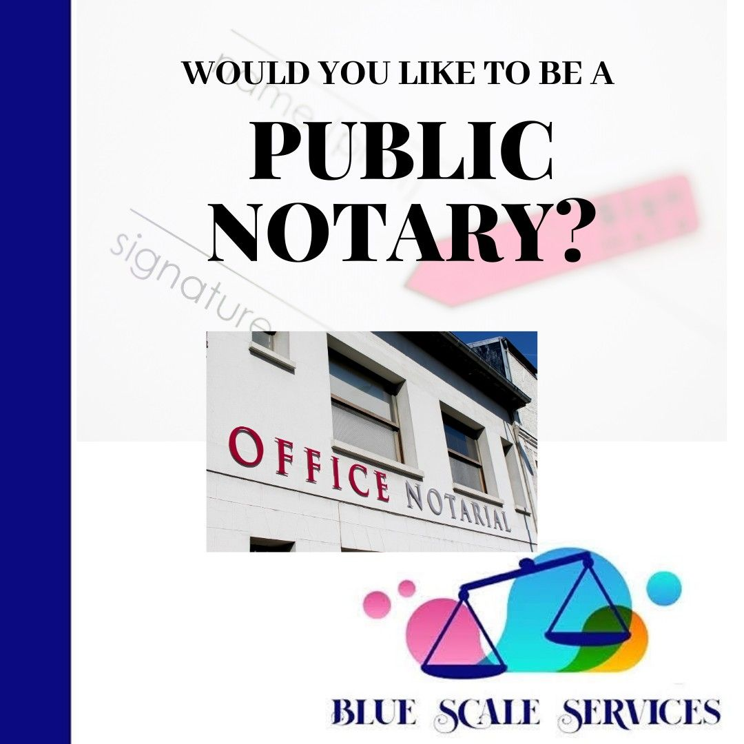 Let Me assist You with starting Your Successful Notary