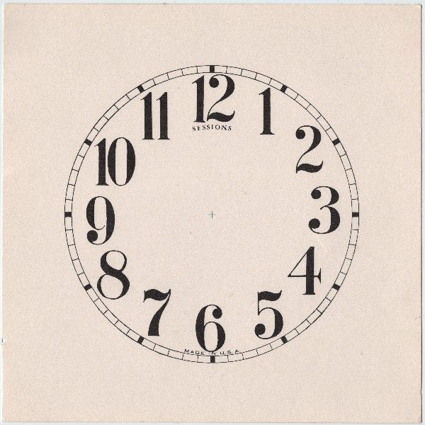 Marvelous Antique Clock Face Image Clock faces, Graphics fairy - clock face template