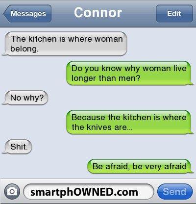 Knives hahaha