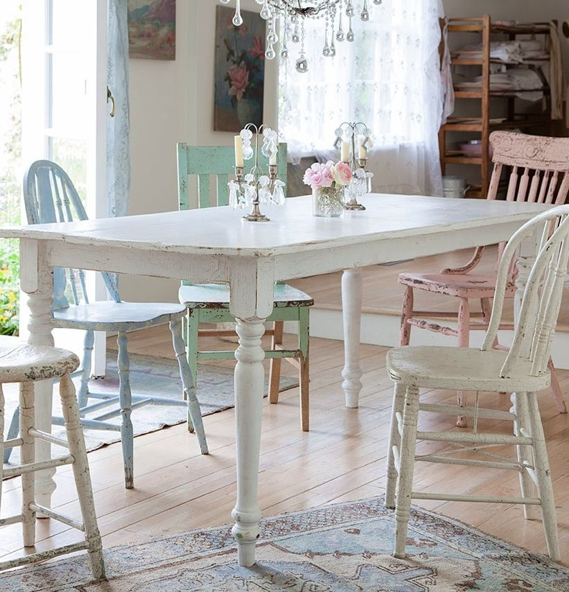 Shabby Chic Kitchen Table Centerpieces: S ℎ A B B Y . I N T E R I ℴ R S