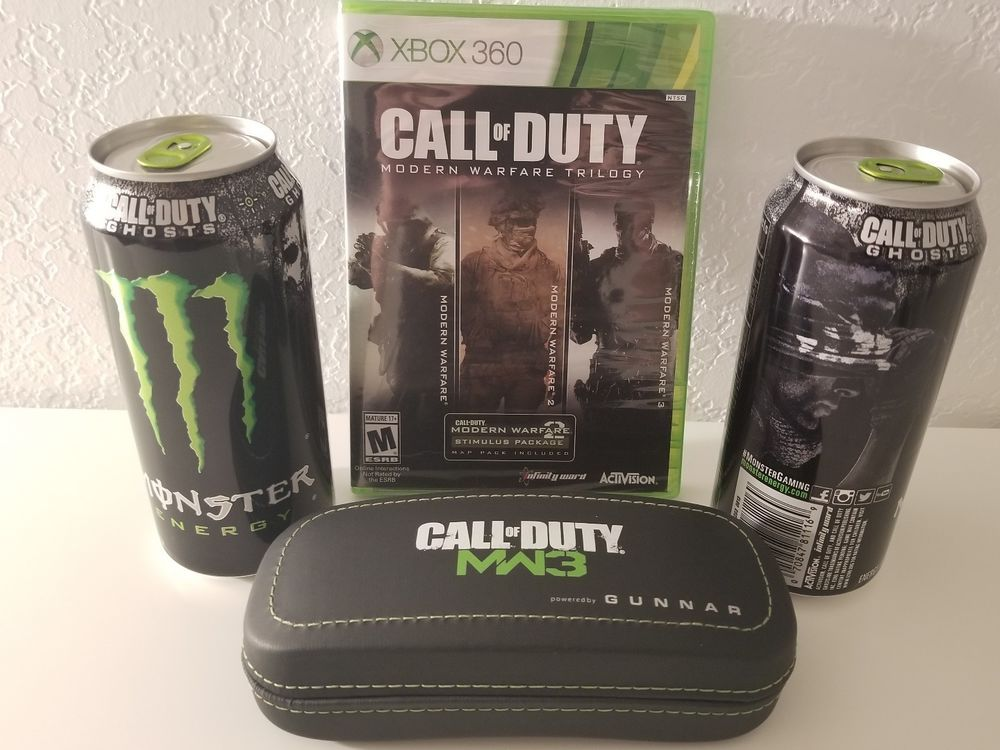 Call Of Duty Modern Warfare Trilogy Xbox One Xbox 360 Playable Mw1 Mw2 Mw3 Modern Warfare Call Of Duty Trilogy