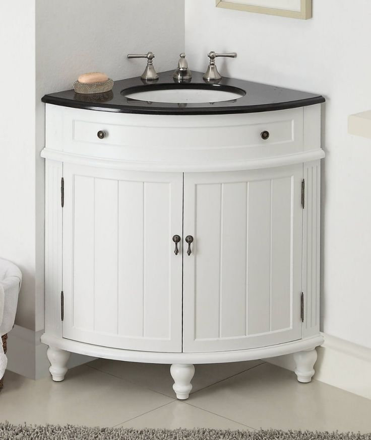 Corner Bathroom Vanity Convenient and Stylish Space-Saver for Your ...