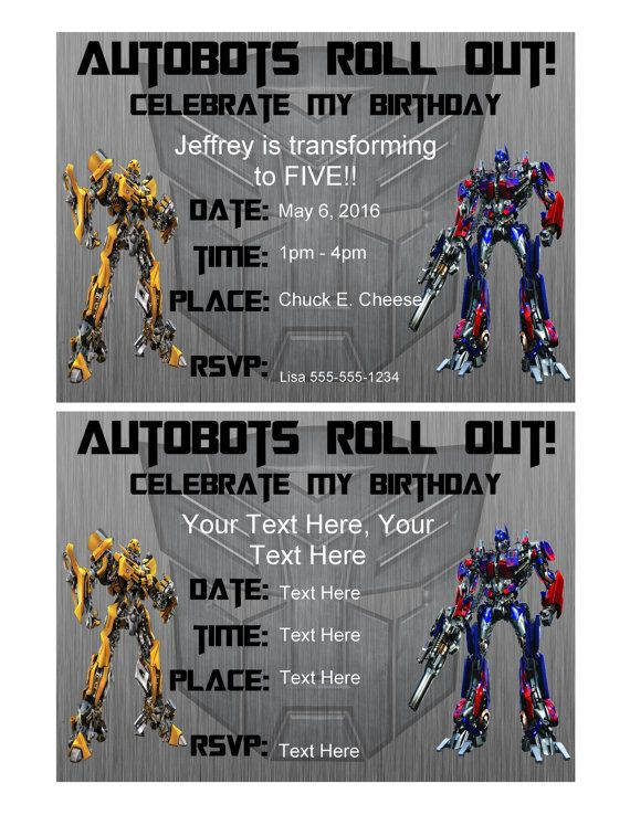 Transformers party invitation editable pdf by spiritwestprintables transformers party invitation editable pdf by spiritwestprintables filmwisefo Images