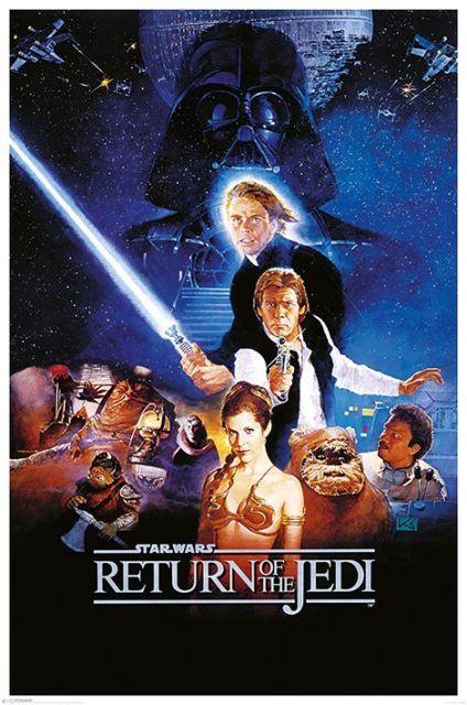 Star Wars Gwiezdne Wojny Powrót Jedi Plakaty Filmowe