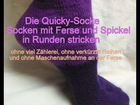 9 Ganz Einfach Socken Stricken Die Quicky Socke Kreativ Mit