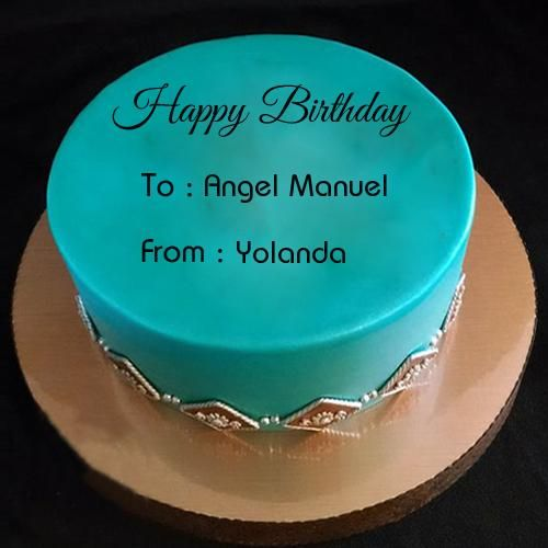 Brother Birthday Wishes Special Cake With Your Name Hairs