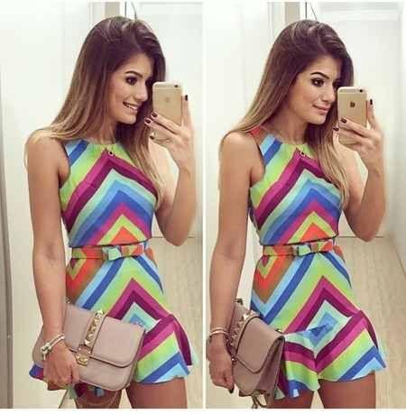 ee651a7a6 vestido feminino curto casual festa importado frete grátis | Summer ...