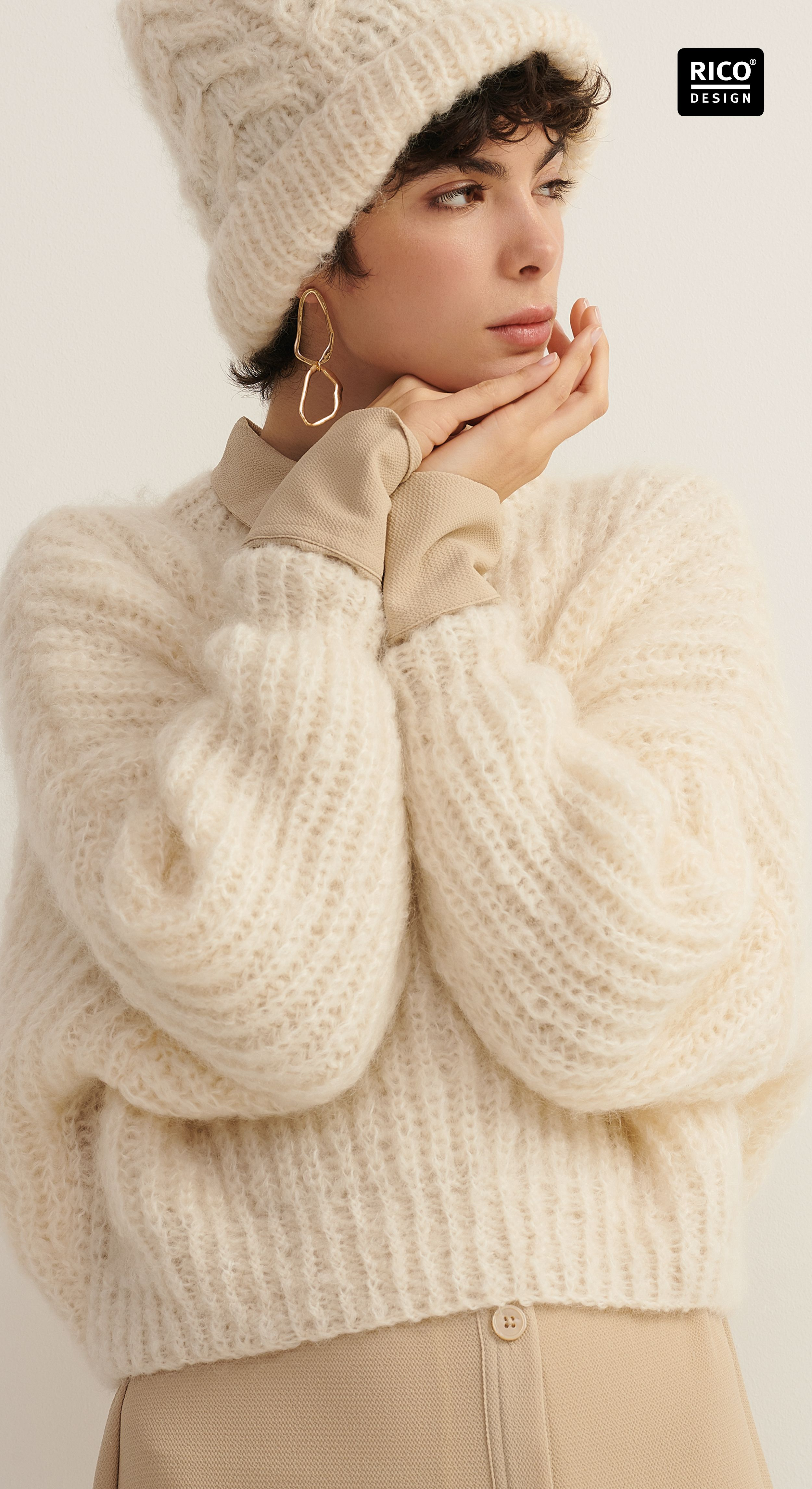 Photo of Knitting styles in autumn: knit fluffy sweaters yourself