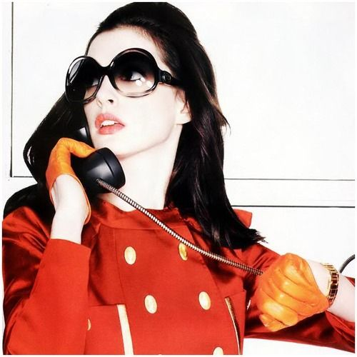 Anne Hathaway Relationship: Anne Hathaway, Love This 60's Style