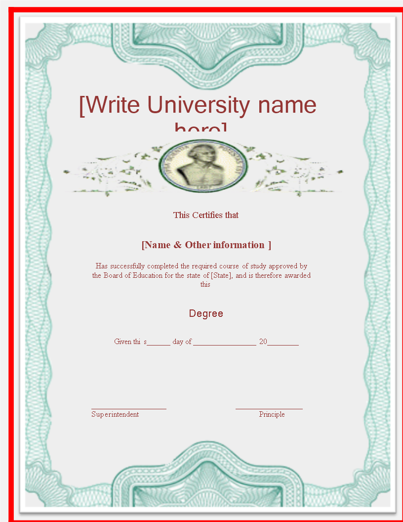 University degree certificate template looking for a university university degree certificate template looking for a university degree certificate template download this university yadclub Gallery