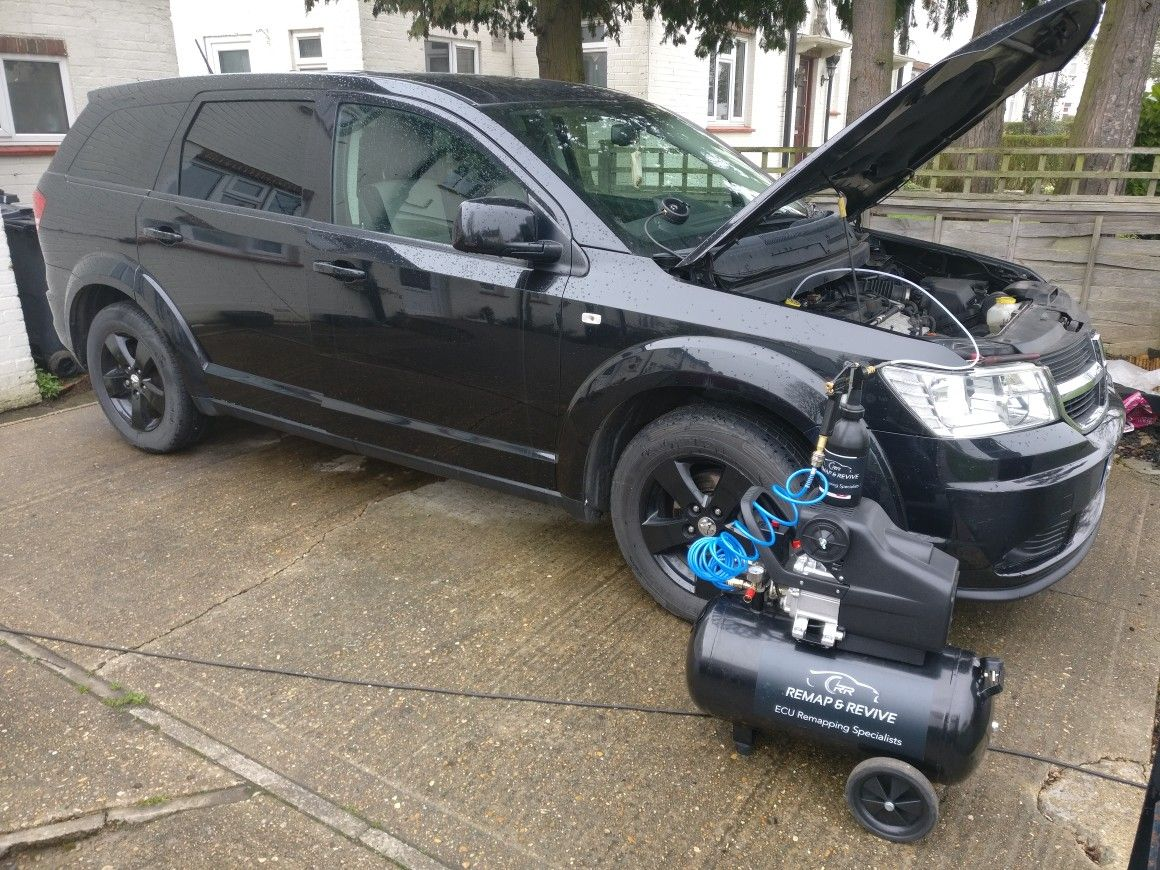 Called in to look at this troublesome Dodge Journey 2 0 CRDi  After