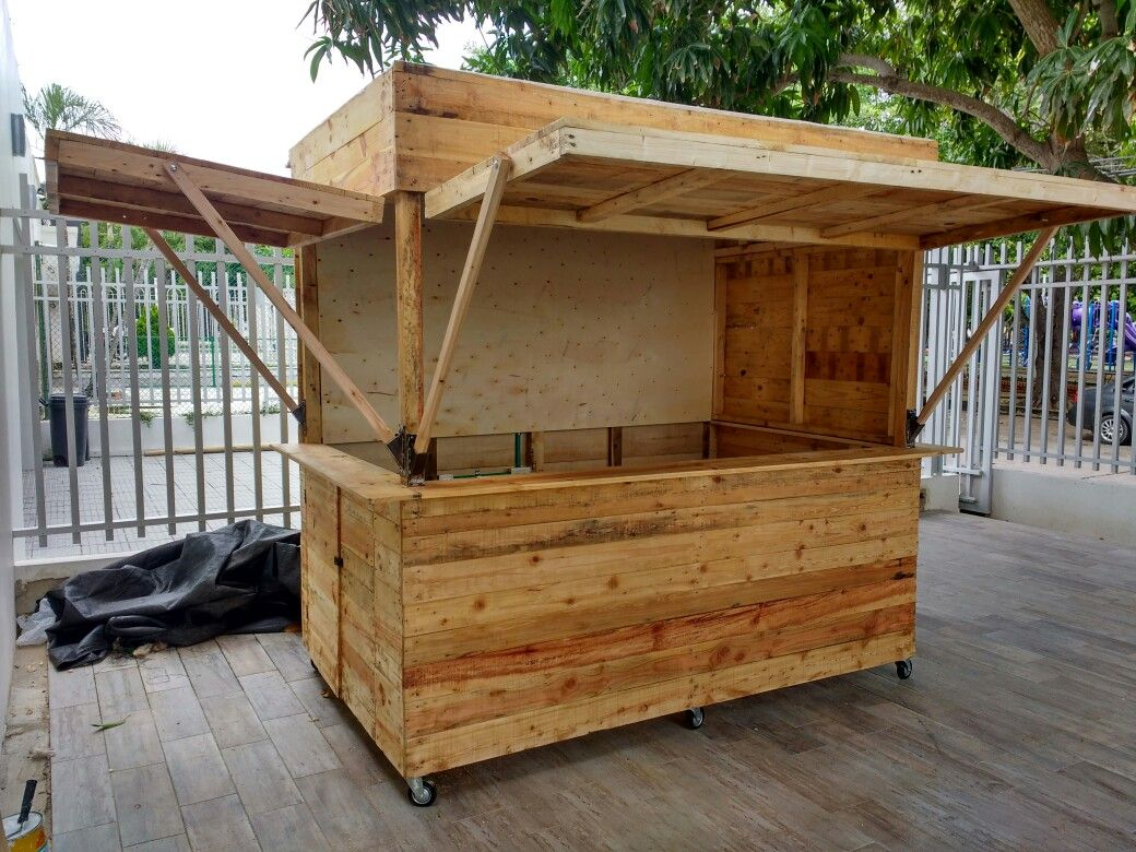 Kitchen outdoor  Kiosk design, Food stall design, Diy outdoor bar