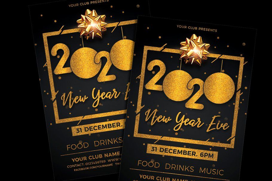 New Year Eve Flyer New years eve, Flyer