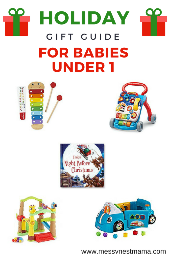 gift guide for babies under 1 what to buy for kids under 1