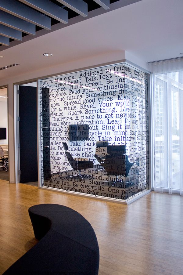 Sony Ericsson North America Headquarters | Ofisler | Office graphics