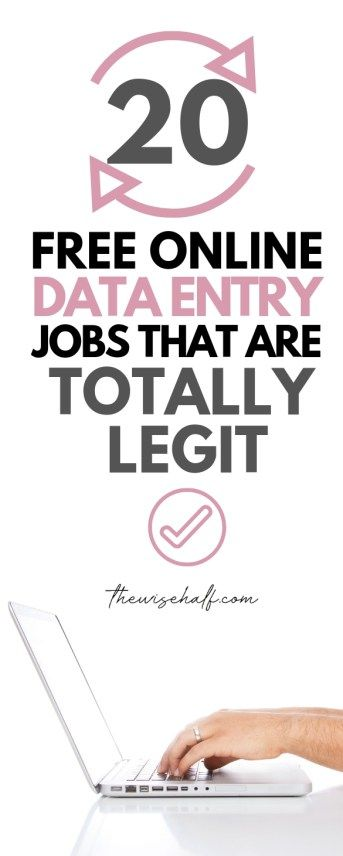 20 Legitimate Data Entry Jobs From Home Without In...
