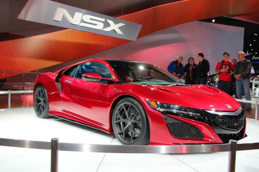 Red nsx.... Damn